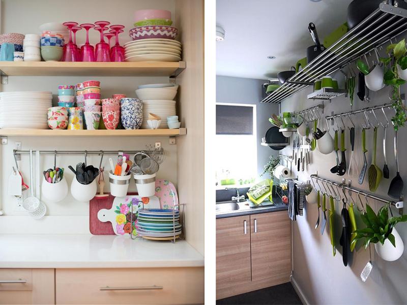 Топ 6 решения за съхранение в малки кухни